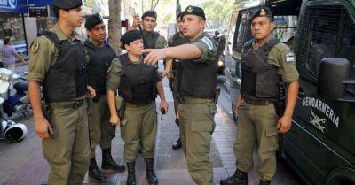 Gendarmería no formará parte de las fuerzas federales en la ciudad