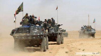 Los iraquíes liberan la antigua ciudad asiria de Nimrud