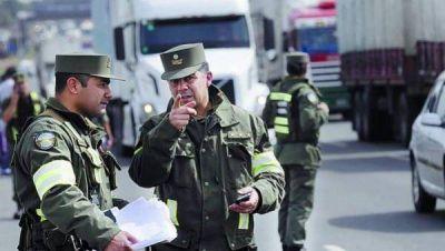 La semana comienza con un nuevo desembarco de Gendarmes en siete distritos del Conurbano