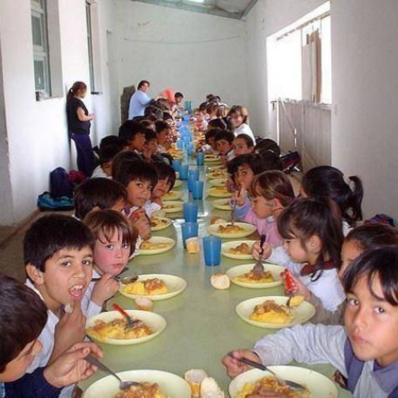se alan que los comedores escolares en la provincia