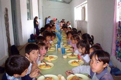 """Señalan que los comedores escolares en la Provincia generan """"procesos de malnutrición"""""""