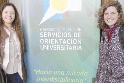 Equipo de UNPSJB, en Encuentro Nacional de Servicios de Orientación Universitaria