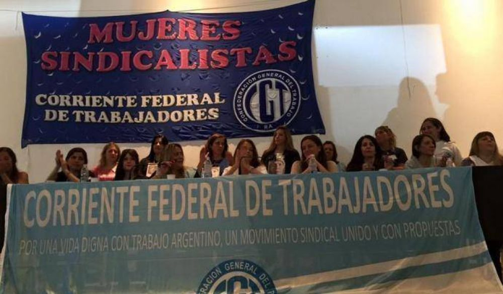 Se realizó el primer encuentro de mujeres sindicalistas