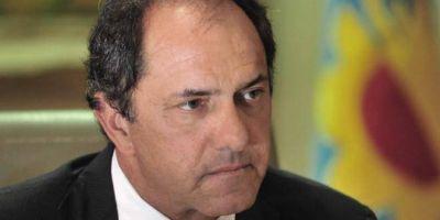 """Scioli le mete presión a la CGT: """"La paciencia de los trabajadores se va a agotar si no tienen respuesta"""""""