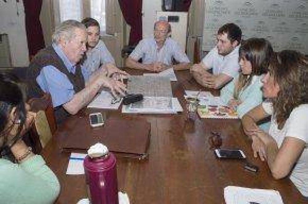 Reunión de Obras Públicas con Cooperativa Eléctrica