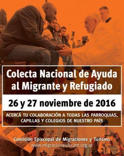 Colecta Nacional de ayuda al migrante y refugiado