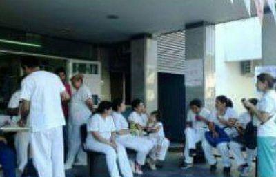 Paro de enfermeros en Tartagal