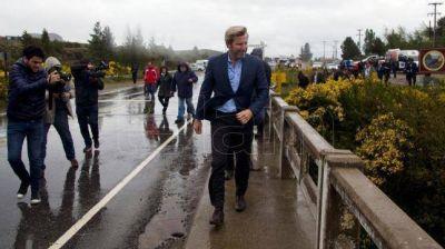 Frigerio presentó obras para el lago Nahuel Huapi