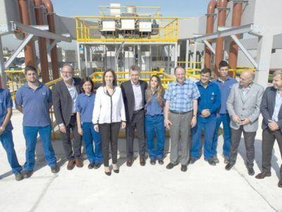 Vidal y Macri visitaron Lanús