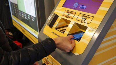 Se podrá cargar la SUBE por home banking