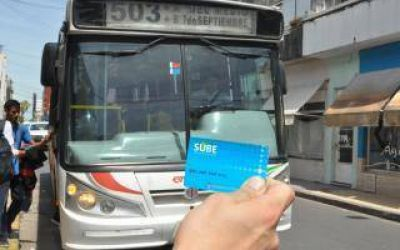 San Nicolás: Implementarán la tarjeta SUBE para el transporte público