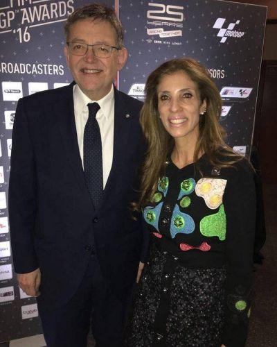 El Presidente de la Generalidad Valenciana acompañó a la Gobernadora