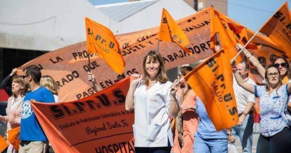 Médicos santafecinos paran el jueves por reapertura de paritarias y bono de fin de año