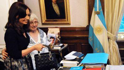 Cristina Kirchner culpó a Mauricio Macri por la denuncia contra su madre