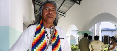 """Félix Díaz: """"Hay discriminación política hacia quienes reclamamos nuestro derecho a la tierra"""""""