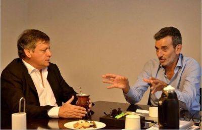 Peppo y Randazzo dialogaron sobre la reestructuración del PJ