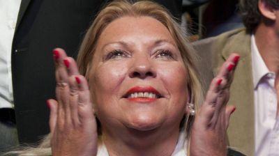 Elisa Carrió será candidata en las elecciones legislativas de 2017