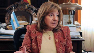 La procuradora María del Carmen Falbo le presentó su renuncia a María Eugenia Vidal