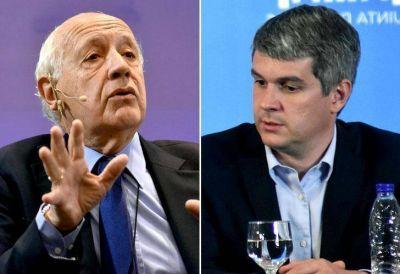 Marcos Peña lo cruzó a Lavagna y defendió la economía