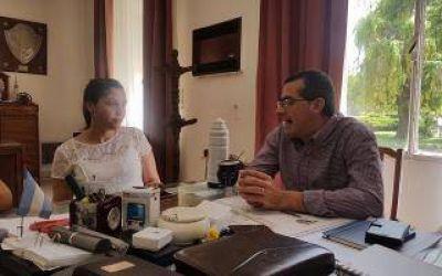 La Diputada Barbieri visitó Rauch y se reunió con el Intendente Suescun