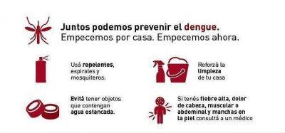 Se intensifica la campaña de prevención contra el dengue