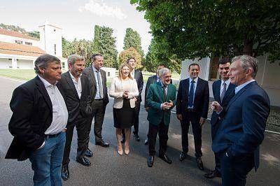 Bahl le expresó a Macri el respaldo del Gobierno entrerriano a la boleta única electrónica