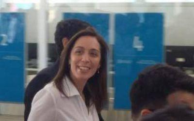 Macri y Vidal en Vicente López: