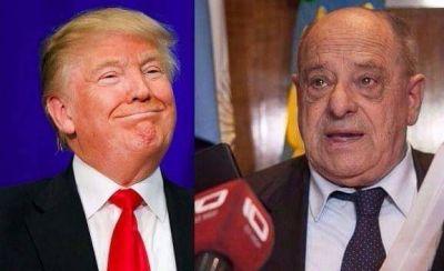 Donald Arroyo, ¿se quedó corto con el morfi? y sorrentinos a la Trump