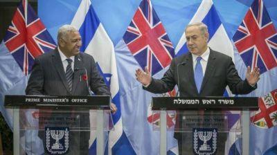 Netanyahu anuncia la primera visita de un primer ministro israelí a Fiji