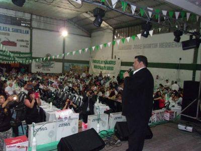 Junto a Nedela, trabajadores municipales de Berisso festejaron su día