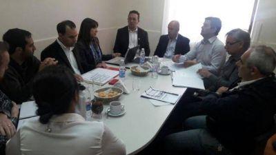 Nueva reunion del consorcio GIRSU en Trelew