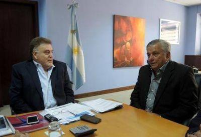 Infante inició gestiones por nuevas obras de infraestructura urbana para la Capital