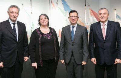 Morales busca financiamiento para el Girsu en Bruselas