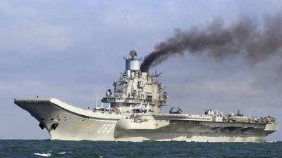 Rusia ya bombardea Siria desde su portaaviones en el Mediterráneo