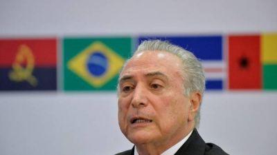 Para Temer, meter a Lula en prisión sería un