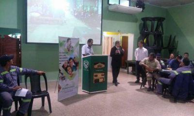 La Unión Ferroviaria organizó jornadas sobre cuidados y prevención de la diabetes