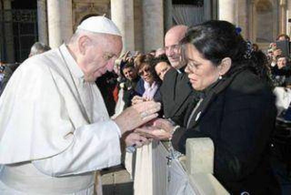 La misión de Puerto Tirol con el Papa, rumbo a Cascia