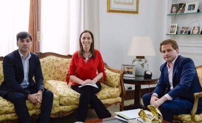 Vidal se reunió con el intendente de Castelli
