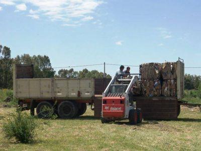 El Municipio vendió materiales reciclados