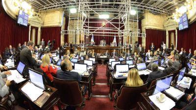 La oposición logró en el Senado media sanción a la ley de emergencia social