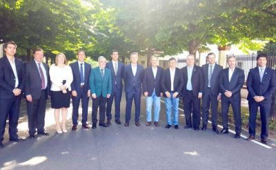 Bahl representó a Bordet en la reunión con Macri