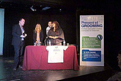 Presentaron pautas de prevención y proyecto de ordenanza sobre grooming
