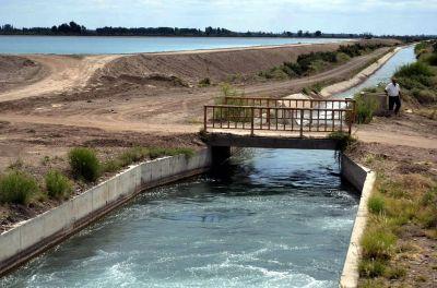 Avanzan obras para optimizar el riego al norte de San Martín
