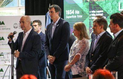 Larreta lanzó el Distrito del Deporte que busca revalorizar la Comuna 8
