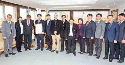 Comitiva religiosa internacional fue recibida en Casa de Gobierno