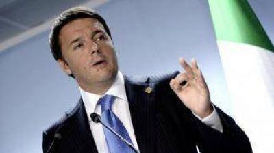 Renzi apuesta a una
