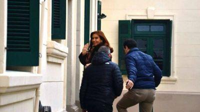 Cristina Kirchner declaró en Río Gallegos por la muerte de Carlos Menem Jr.
