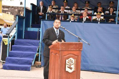 Insfrán encabezó acto conmemorativo del 56°aniversario de la Policía provincial