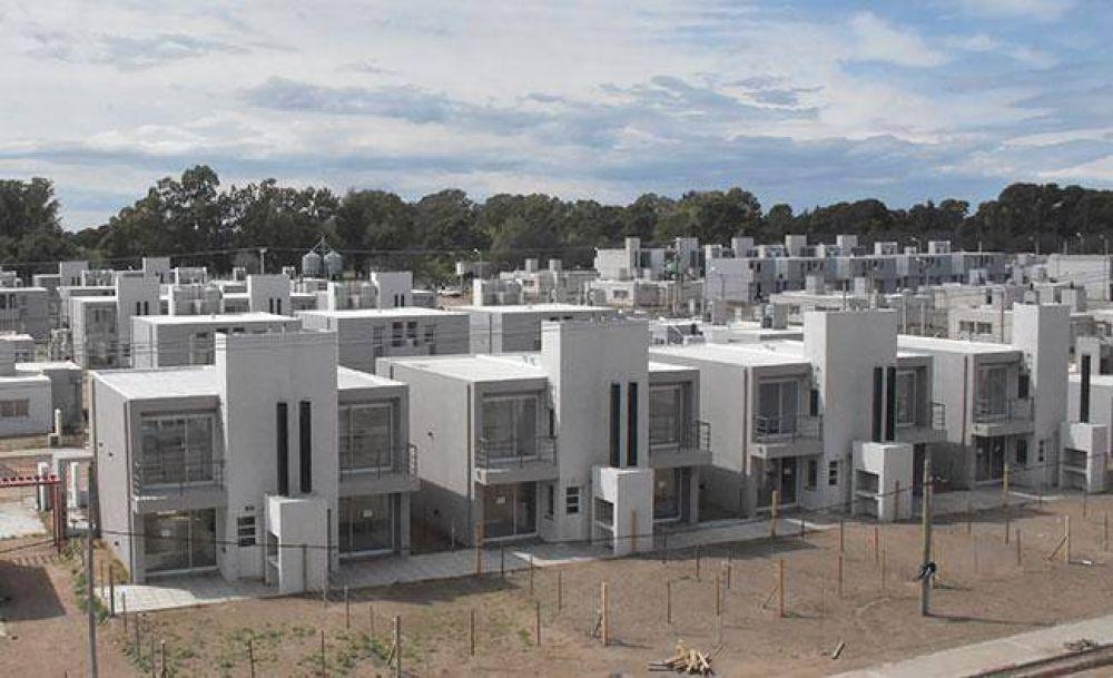 Entregan desde fin de mes unas 300 casas del ProCreAr