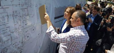 La Gobernadora María Eugenia Vidal volvió a pisar la sección: visitó 25 de Mayo y General Alvear